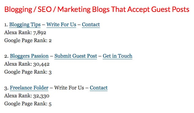 Effective and Working Alternatives to MyBlogGuest