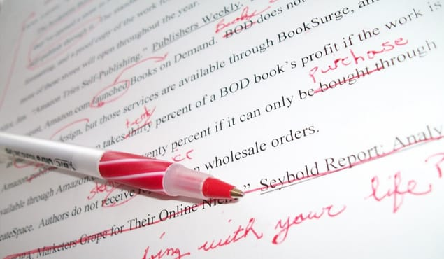 Red Pen Article Editing