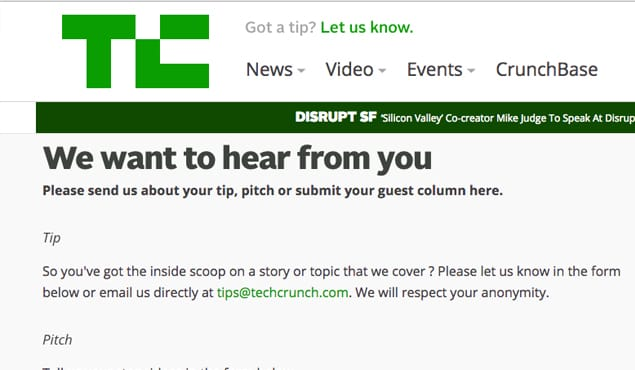 Techcrunch Guest Submission