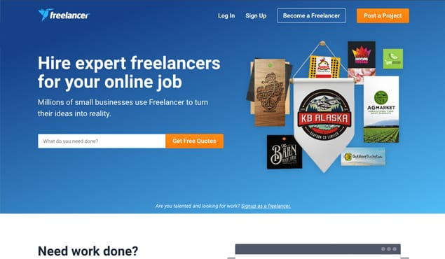 Freelancer Website