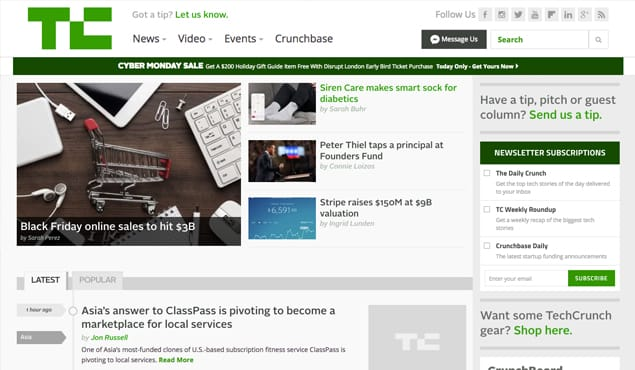 How to Submit a Guest Post to Techcrunch com