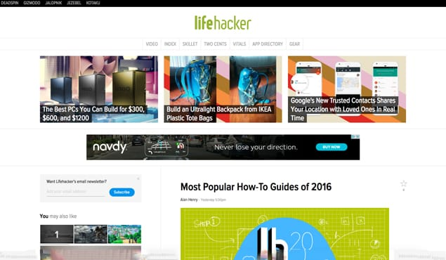 Four Methods to Become a Guest Author on Lifehacker