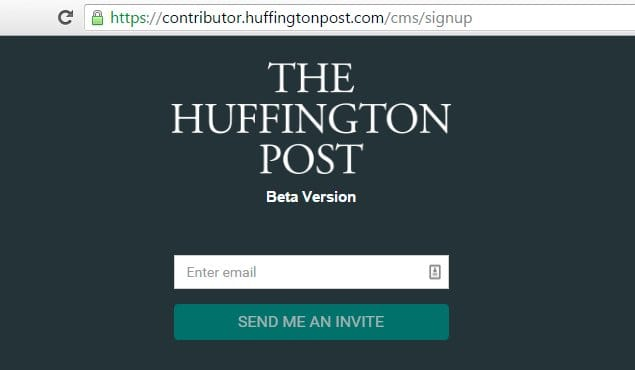 How to Become a Guest Blogger at The Huffington Post