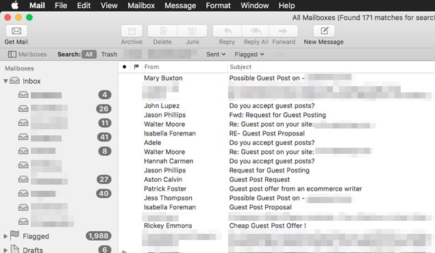 How to Determine if a Guest Post Pitch is Spam or Not