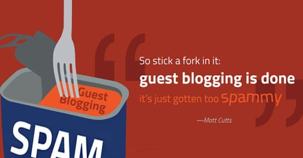 Matt Cutts Guest Blogging Done