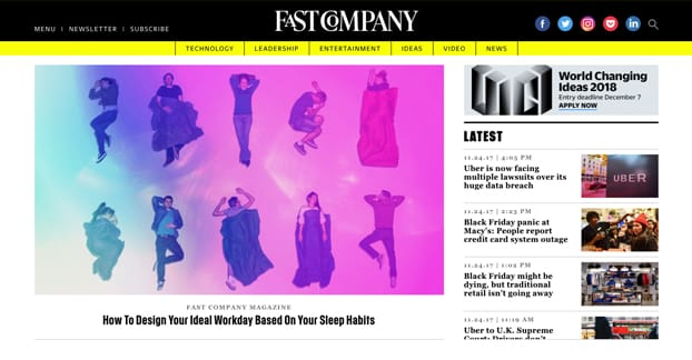 Fast Company Website