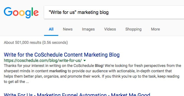 Write for Us Marketing Blog