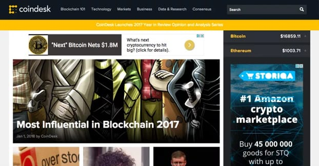 cryptocurrency blogs to follow