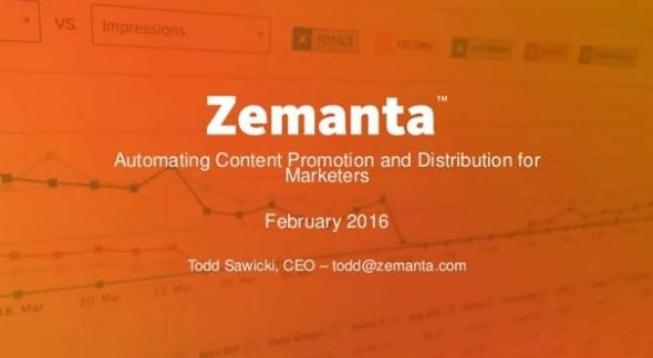 Zemanta Distribution