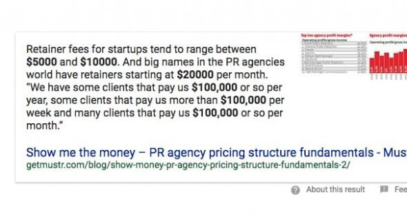 PR Firm Cost