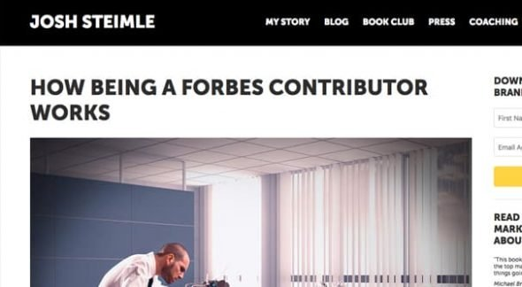 How Much Can You Get Paid Writing for Forbes?