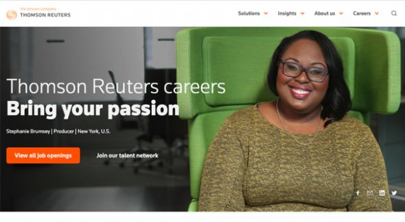 Thomson Reuters Career Page